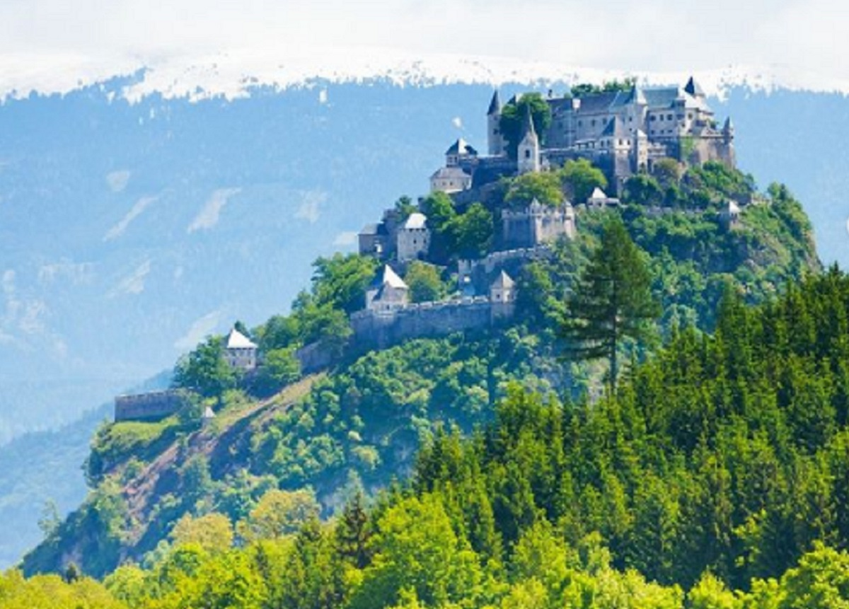 castillo de hochoterwitz 1