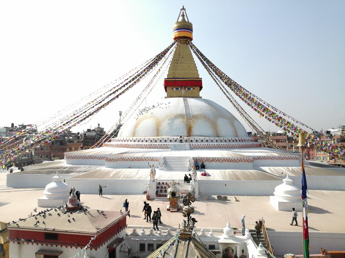 estupa boudhanath katmandu nepal